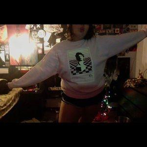 Macintosh Plus Floral Shoppe sweater